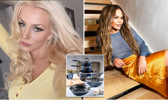 Chrissy Teigen's cookware line is dropped from retail giant Macy's over Courtney Stodden cyberbully