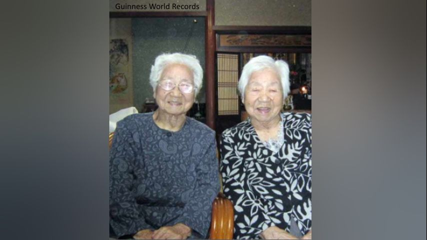 AMAZING: Sisters Named World's Oldest Identical Twins