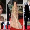 Kate Middleton joins Prince William, Prince Charles and Camilla at the No Time To Die premiere